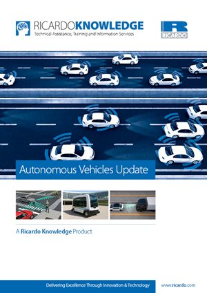 Autonomous Vehicles Update